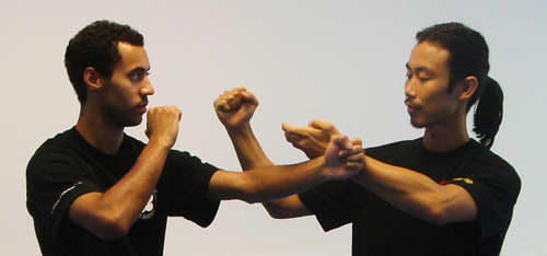 Sihing Ayron in a Private Lesson with Sihing Paul.